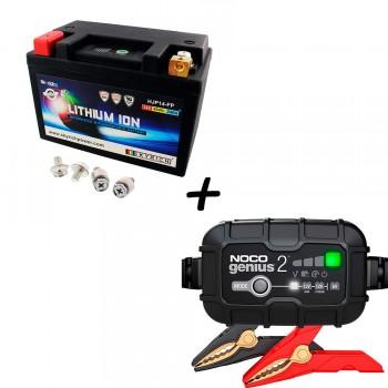 Bateria Skyrich HJP14-FP + Cargador GENIUS2 Litio
