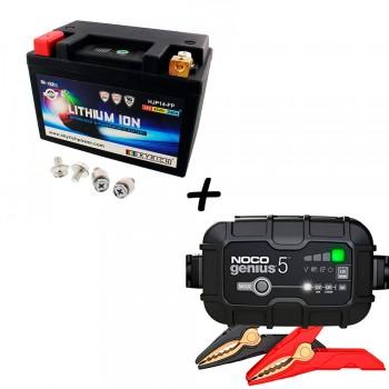 Bateria Skyrich HJP14-FP + Cargador GENIUS5 Litio