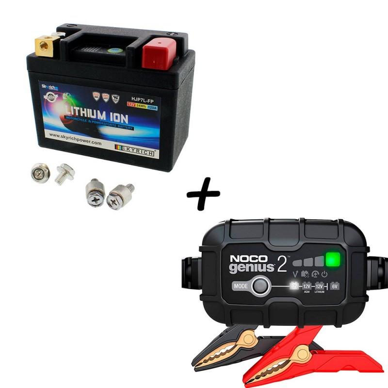 Bateria Skyrich HJP7L-FP + Cargador GENIUS2 Litio