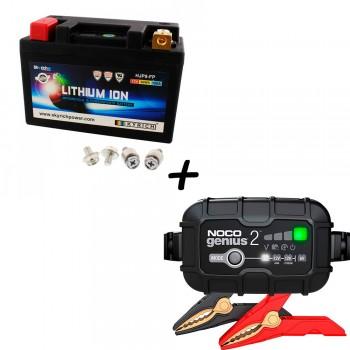 Bateria Skyrich HJP9-FP + Cargador GENIUS2 Litio