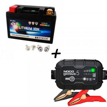 Bateria Skyrich HJP9-FP + Cargador GENIUS5 Litio