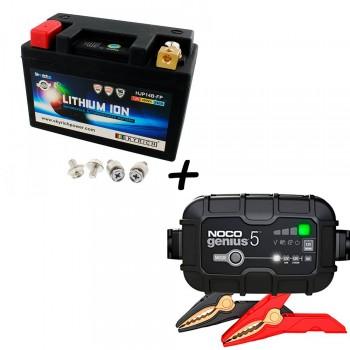 Bateria Skyrich HJP14B-FP + Cargador GENIUS5 Litio