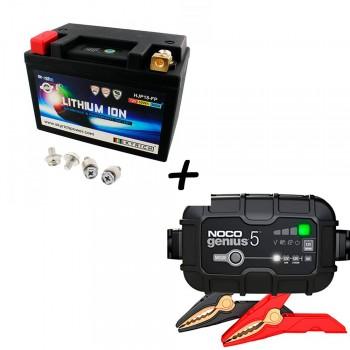 Bateria Skyrich HJP18-FP + Cargador GENIUS5 Litio