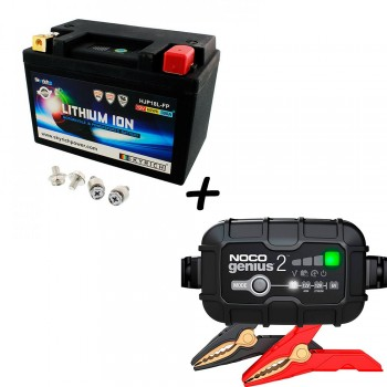 Bateria Skyrich HJP18L-FP + Cargador GENIUS2 Litio