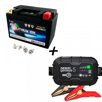 Bateria Skyrich HJP18L-FP + Cargador GENIUS5 Litio