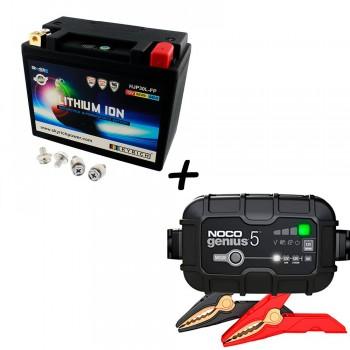 Bateria Skyrich HJP21-FP + Cargador GENIUS5 Litio