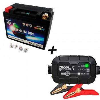 Bateria Skyrich HJP30-FP + Cargador GENIUS5 Litio