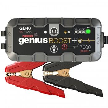 Arrancador de moto y coche Booster de litio Ultraligero GB40