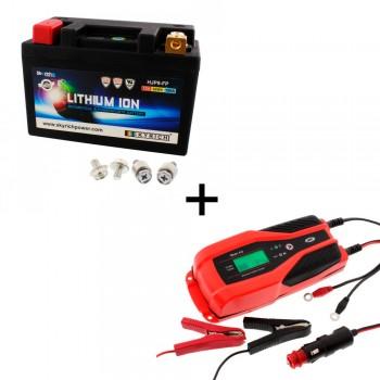 Bateria Skyrich HJP9-FP + Cargador JMP SKAN 4.0 Litio