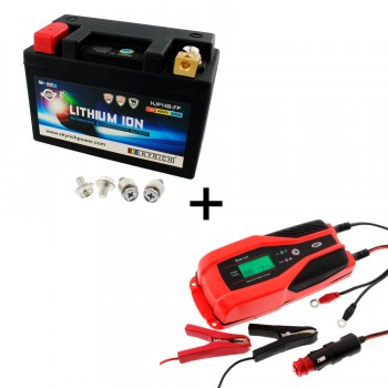 Bateria Skyrich HJP14B-FP + Cargador JMP SKAN 4.0 Litio