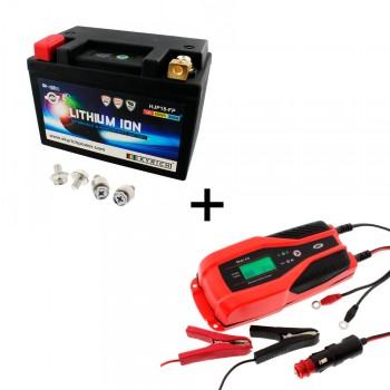 Bateria Skyrich HJP18-FP + Cargador JMP SKAN 4.0 Litio