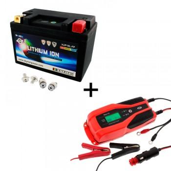 Bateria Skyrich HJP18L-FP + Cargador JMP SKAN 4.0 Litio