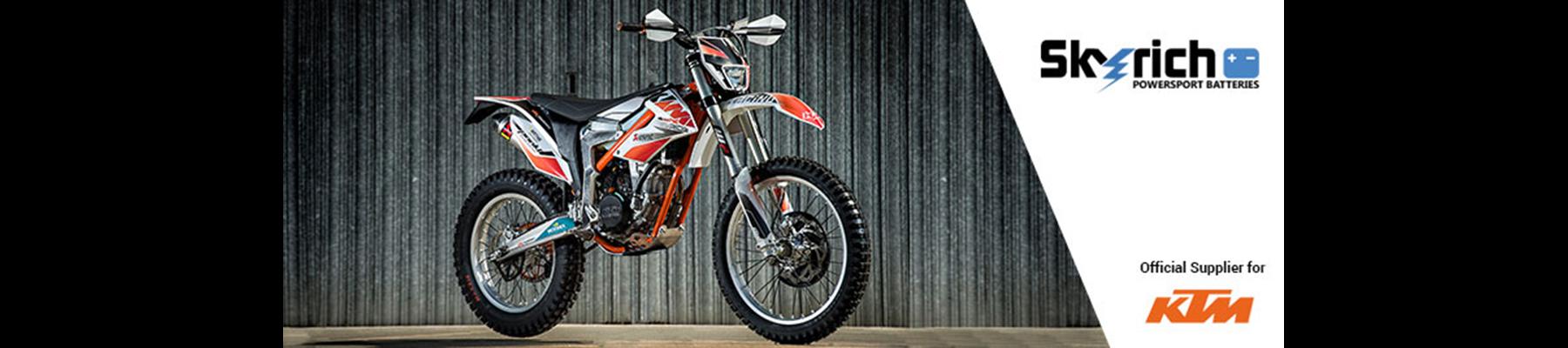 Baterias de litio para moto Skyrich  2 años de garantía